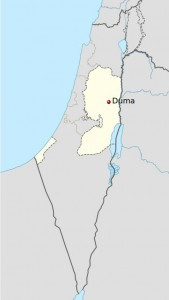 Town of Duma, in The West Bank
